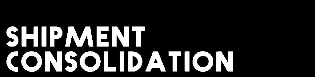 Shipment-Consolidation